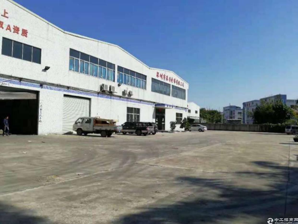 南光高速出口附近独门独院钢构7000平米厂房仓库出租
