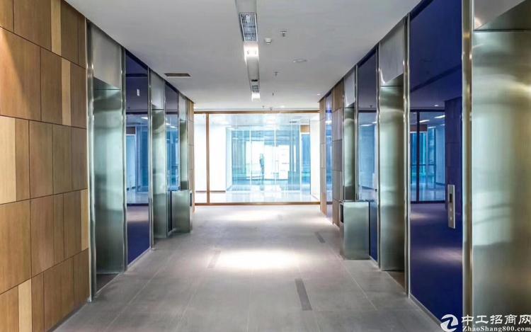深业U中心800平甲级写字楼,全新豪装,拎包入住