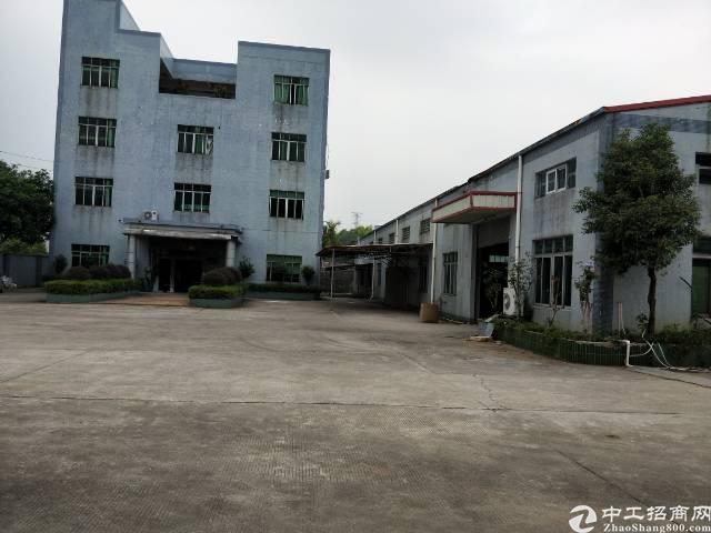 企石镇原房东独院钢构厂房2栋3000平方