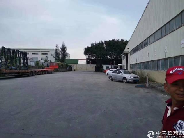 石岩料坑单一钢构仓库3600平方层高7米招租