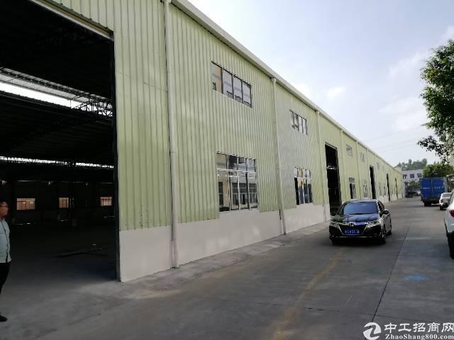 东莞市凤岗镇大型钢构厂房