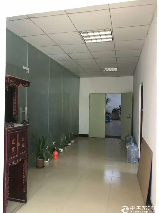 光明新区玉律村二楼850平米的厂房出租