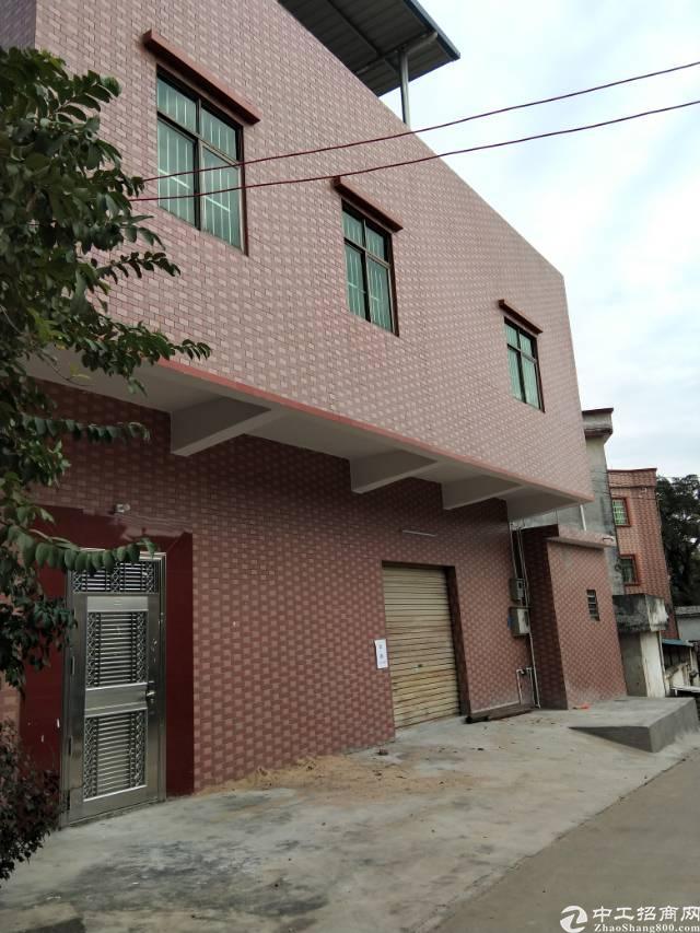 大岭山靠寮步独栋厂房1-2层500平米租7000块