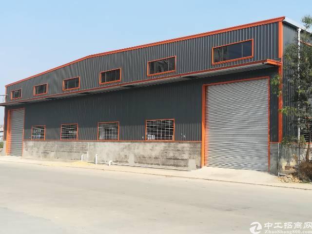 全新原房东钢结构厂房招租3500平方