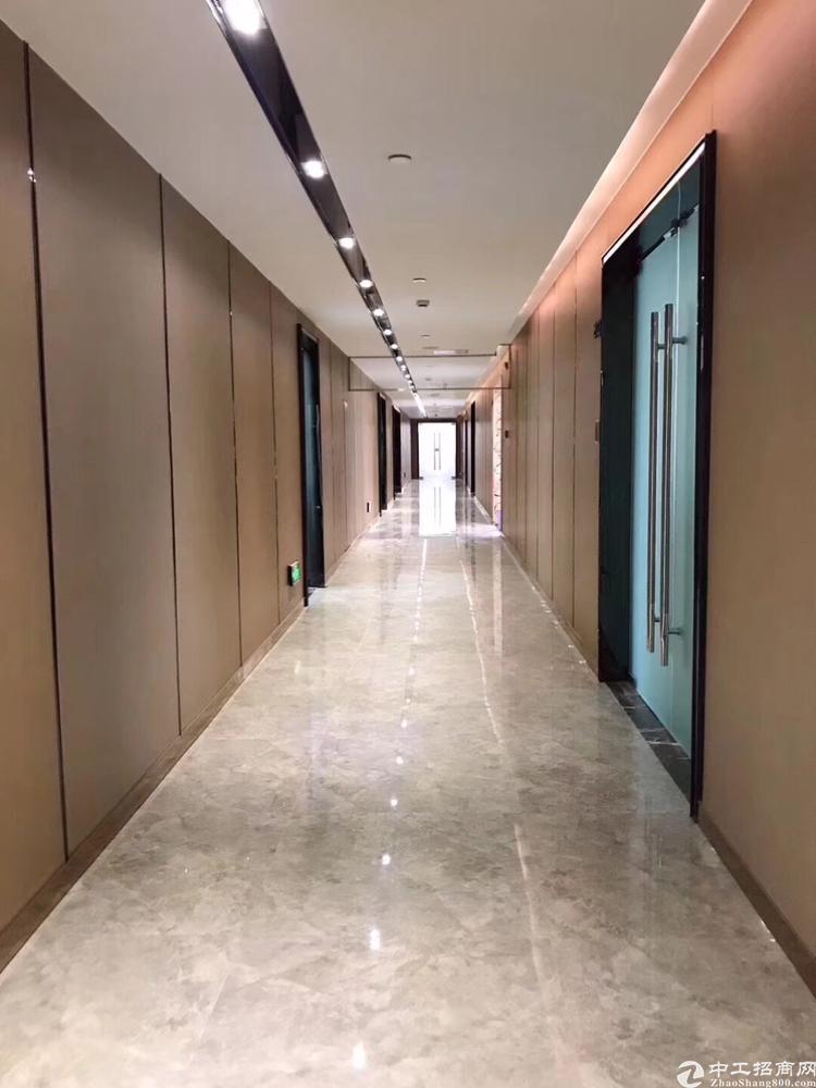 龙华地铁口甲级写字楼1700平招租