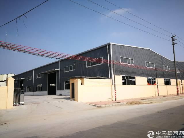 大岭山镇临近107国道全新钢构厂房