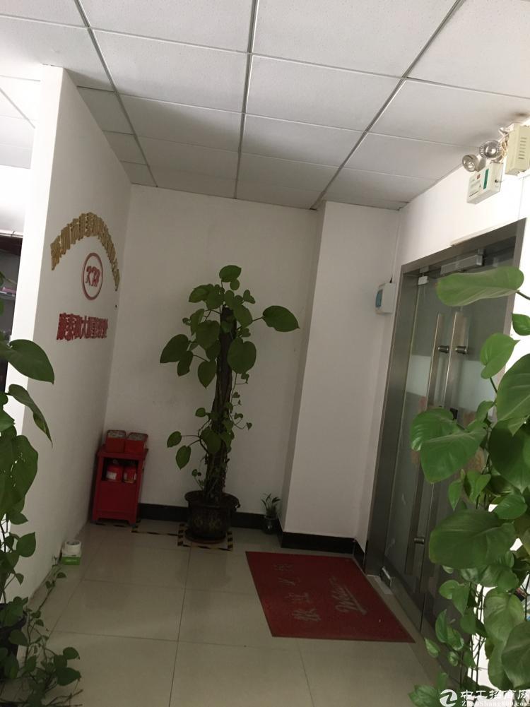 出租福永桥头地铁口98平米精装修写字楼,带家私无须其他费用