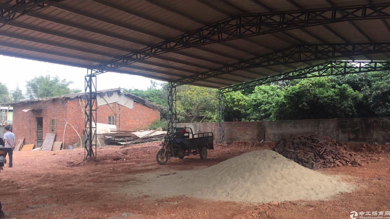 惠州陈江最便宜铁皮厂房600平方米