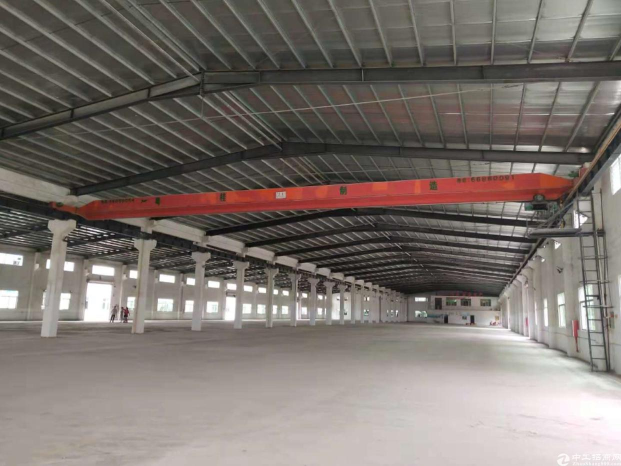 惠州市博罗县独门独院现成行车滴水10米钢构厂房