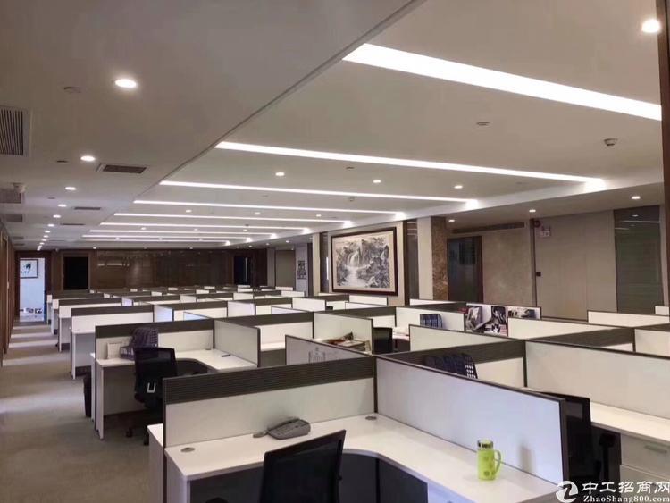 龙华地铁口甲级写字楼580平招租