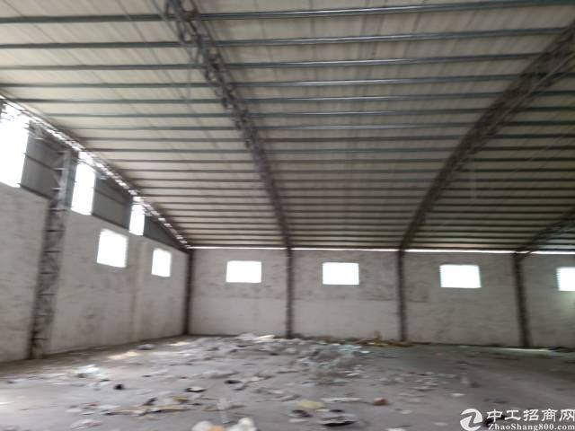 东莞市虎门镇白沙村钢构厂房出租。