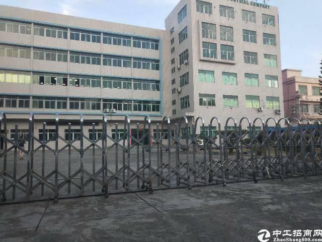 虎门怀德村自用厂房分租楼上全新装修2280平,无任何转让费