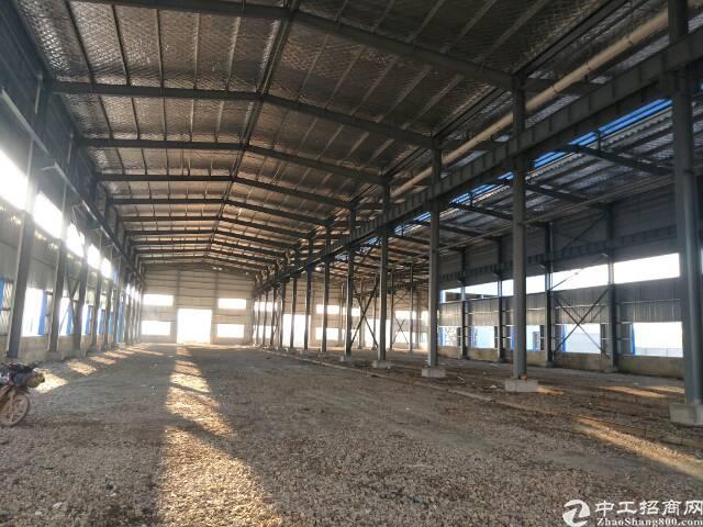 黄陂横店钢结构厂房1000平米,可生产加工仓储物流。