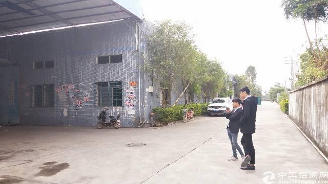 惠阳秋长独栋钢构厂房招租1600平,带家具环评 消防,