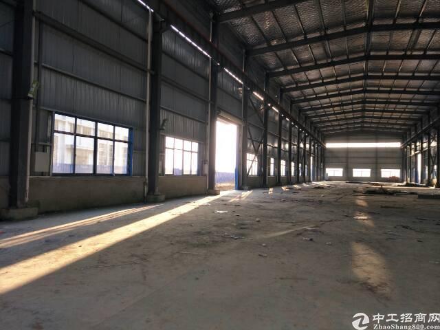 黄陂横店独栋钢结构厂房4900平米,可以生产加工仓储物流。