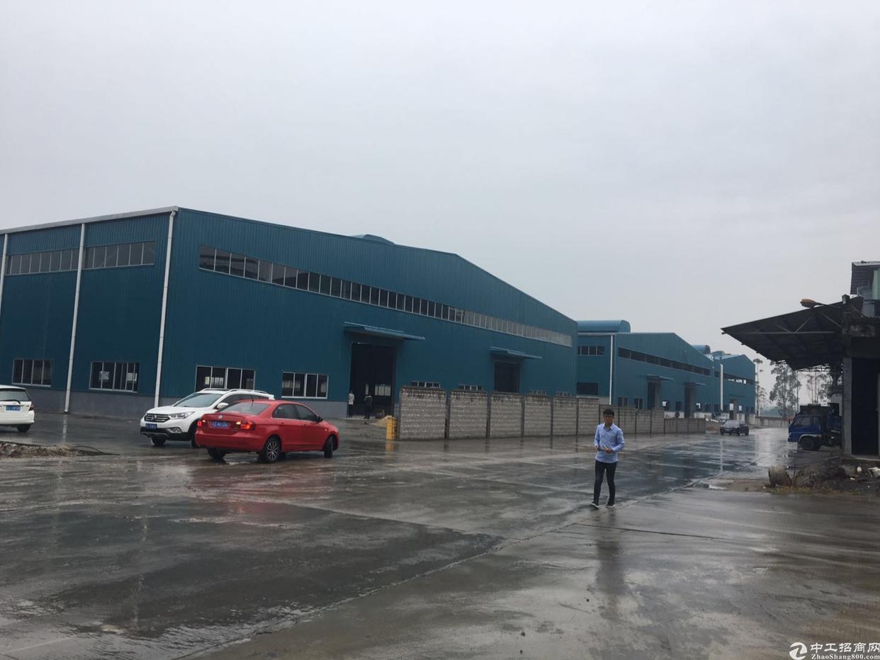 东莞市原房东厂房钢构空地超大可停飞机环评没问题