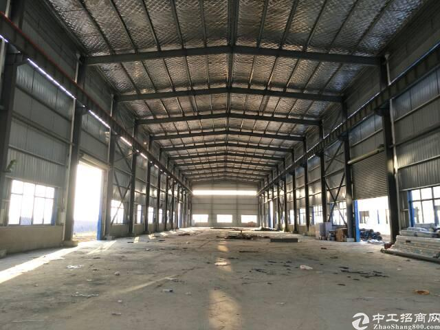 黄陂横店钢结构平库4900平米,可生产物流,可分租