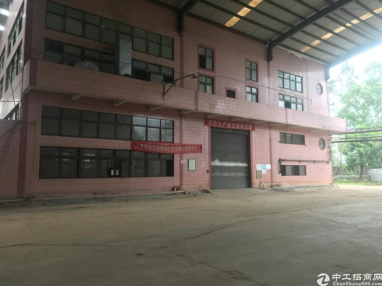 4000平实际面积一楼6米高两层独栋厂房