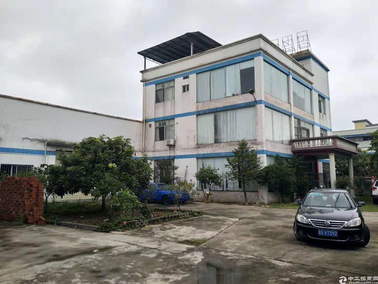 东莞市万江区独院单一层厂房花园式利用率高