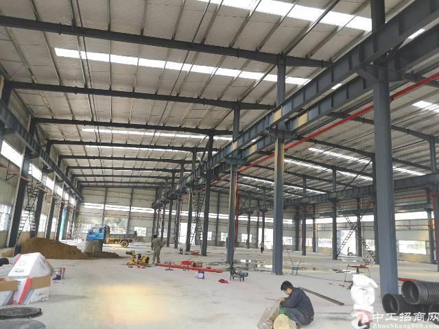 阳逻开发区2千平独栋钢结构厂房租售