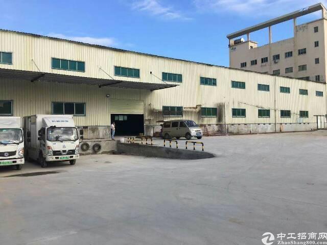深圳北站旁,物流仓库,一楼2000平,带平台