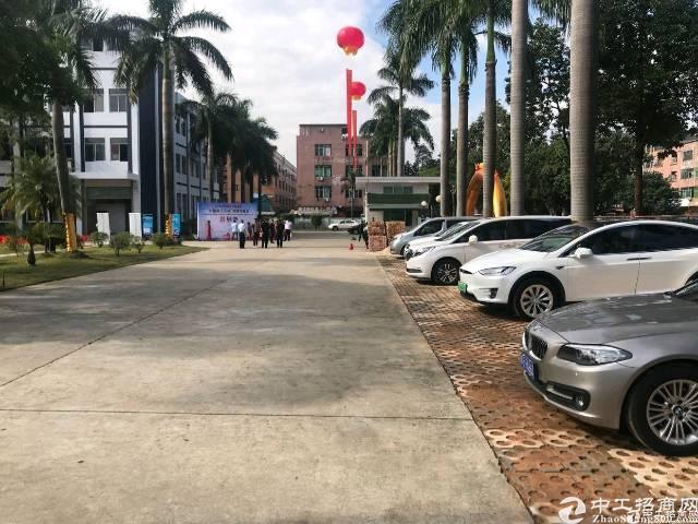 东莞花园式厂房带红本上市公司首先