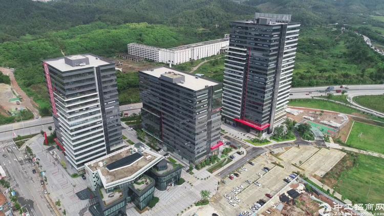 福永宝安大道边精装写字楼300平方,带超大阳台
