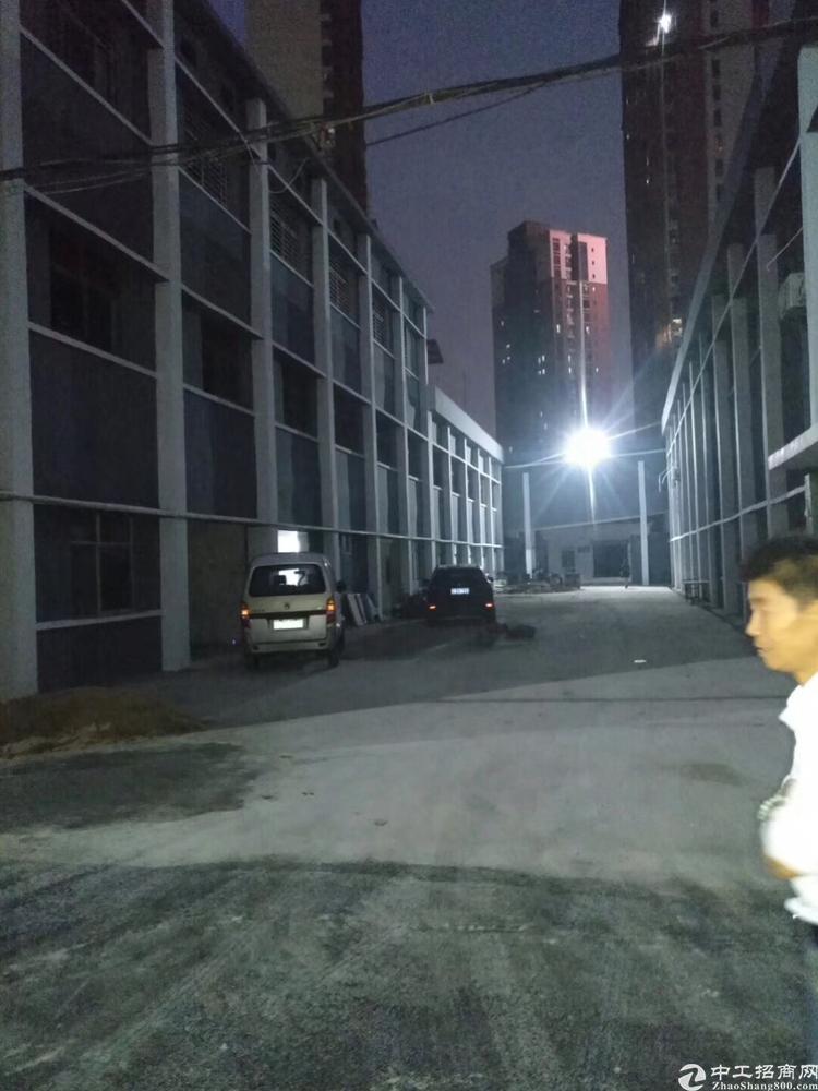 松岗溪头大型工业园区小独栋厂房每层500平-1000平米低价