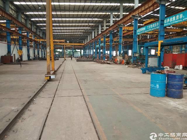 东莞市12米高钢构厂房招租,5400平方带行车