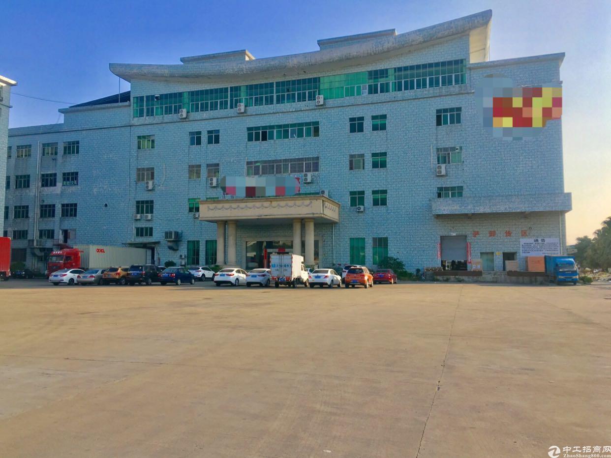 万江环城路外大型工业园区新出厂房出租,可办环评,证件齐全!
