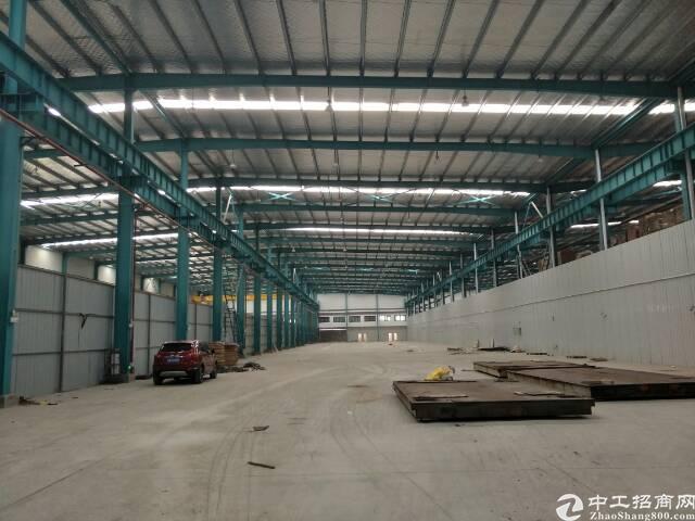 金银潭钢结构平库3850平米。可以仓储储物流。