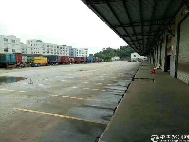 龙华清湖新出一楼8800平方物流仓库招租可分租