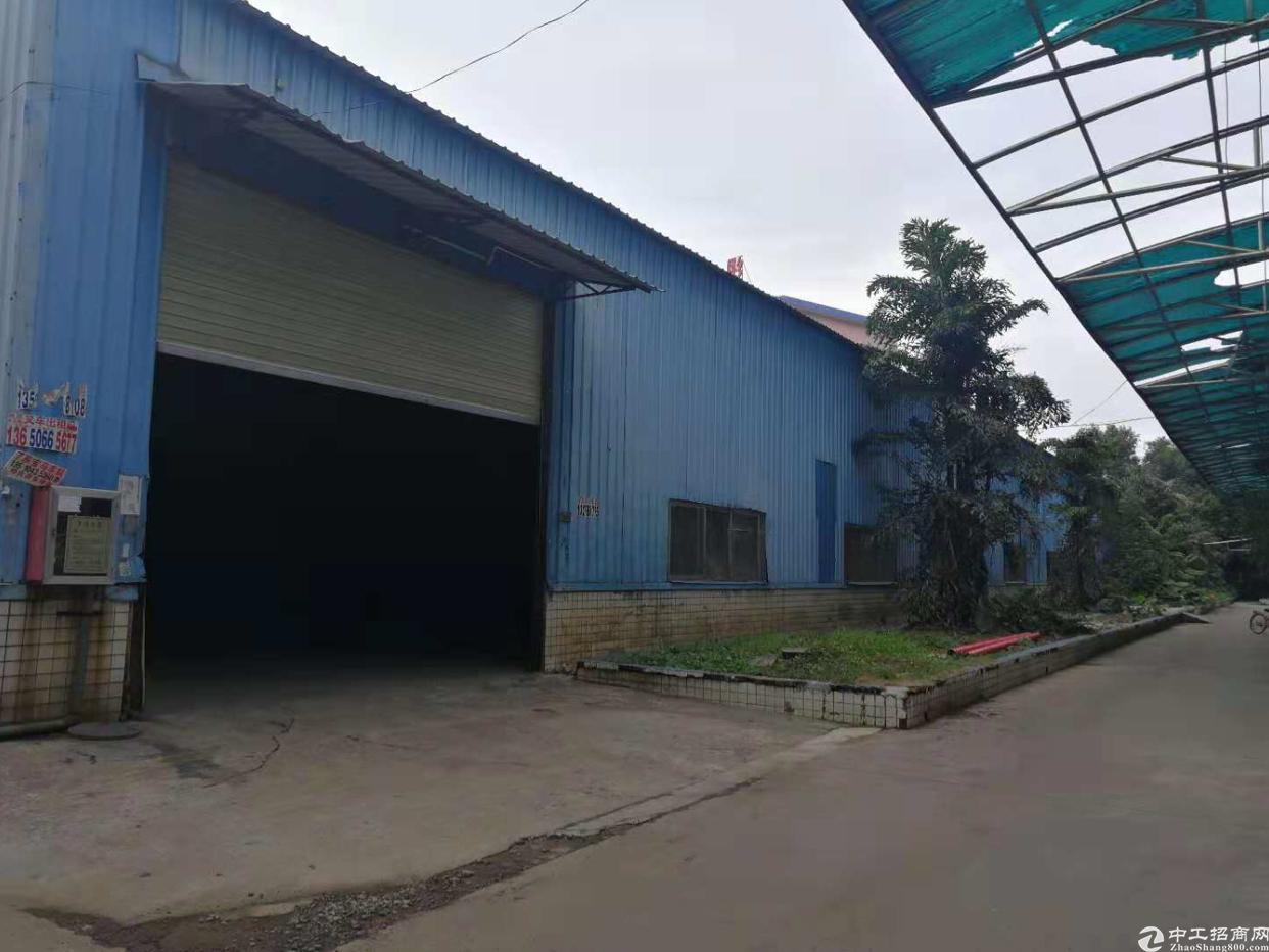 龙岗中心城区位于大型工业区内,铁皮房800平米