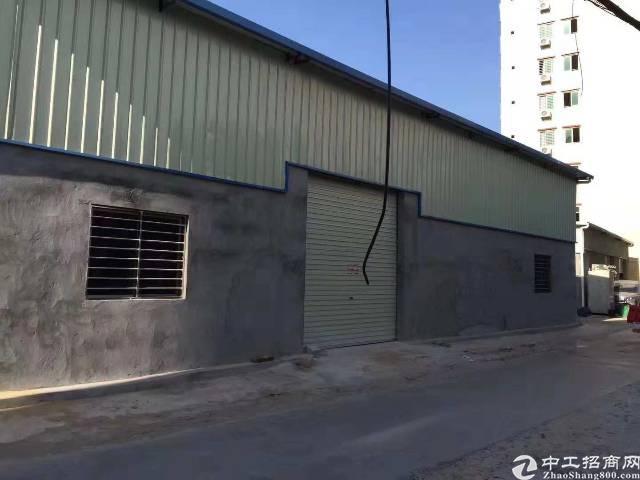 虎门镇路东社区新建铁皮房建筑面积900平方形象好空地大独门