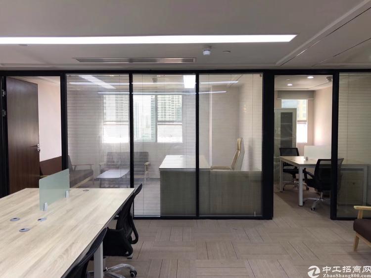龙华地铁口精装修办公室230平招租