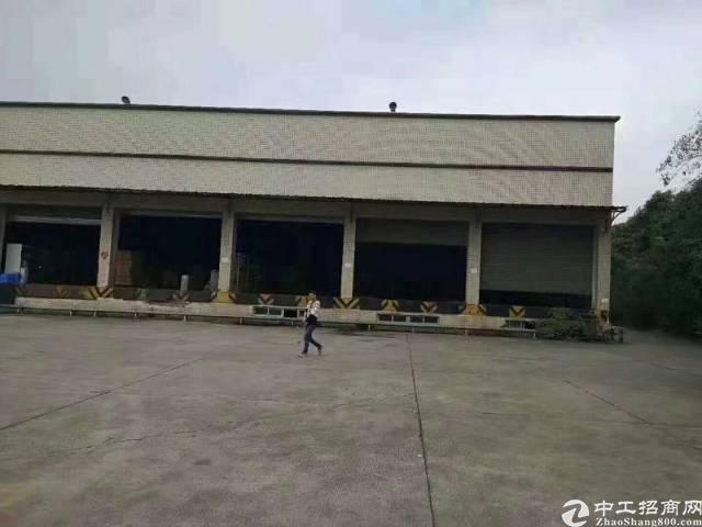 松岗高速路口(南光龙大两条高速)主干道边钢构8000平米招租