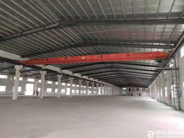 带行车10吨钢构厂房出租