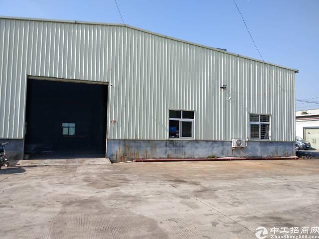 横沥镇大型工业区带现成行车办公室300平方钢构厂房出租