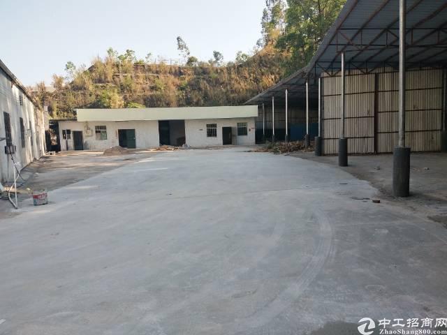 龙岗南联新出钢结构1200平适合做废品打包空地出租