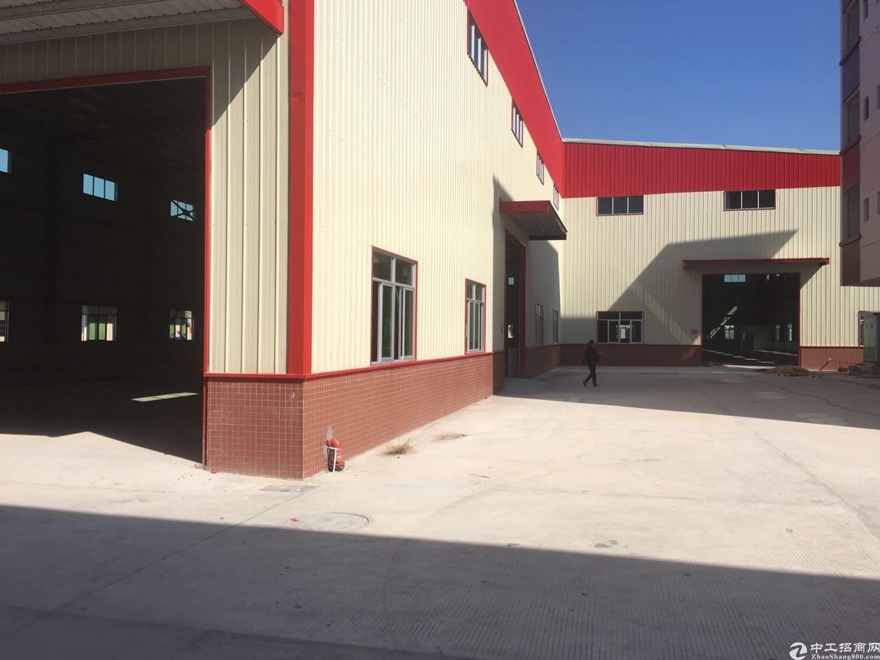 原房东证件齐全可办环评全新钢结构厂房