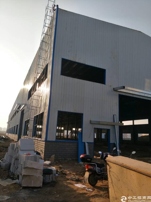 黄陂横店独立钢结构厂房4900平米,可分租,生产加工仓储