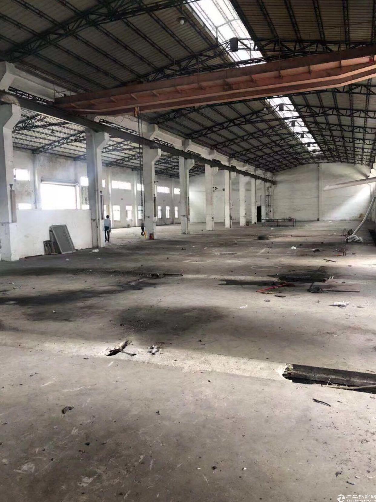 惠阳区沙田带行车红本钢构厂房出租5500平方家具环评