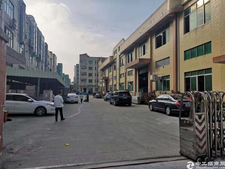 出租沙井后亭工业区一楼2000平米高度6米500起分租