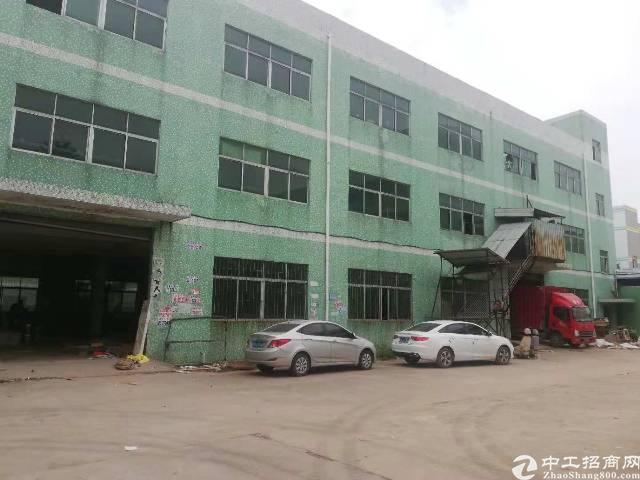 坪山大工业区新出二楼厂房1300平,位置好,带装修