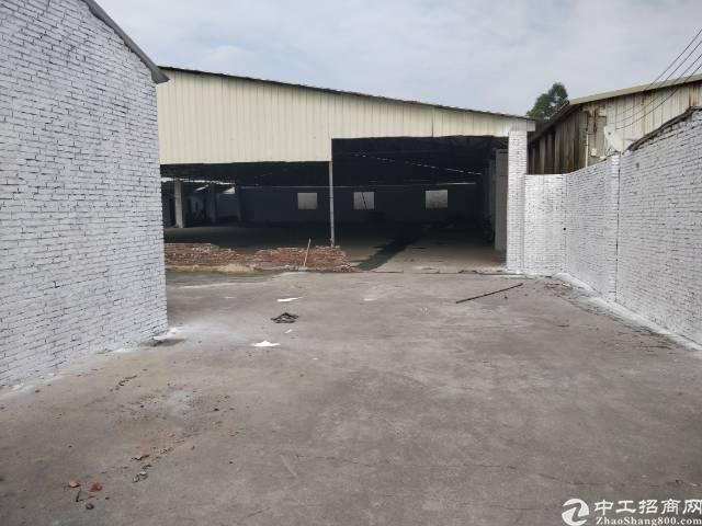 虎门白沙独院铁皮厂房1500方出租,可以做废品收购,废铁打包