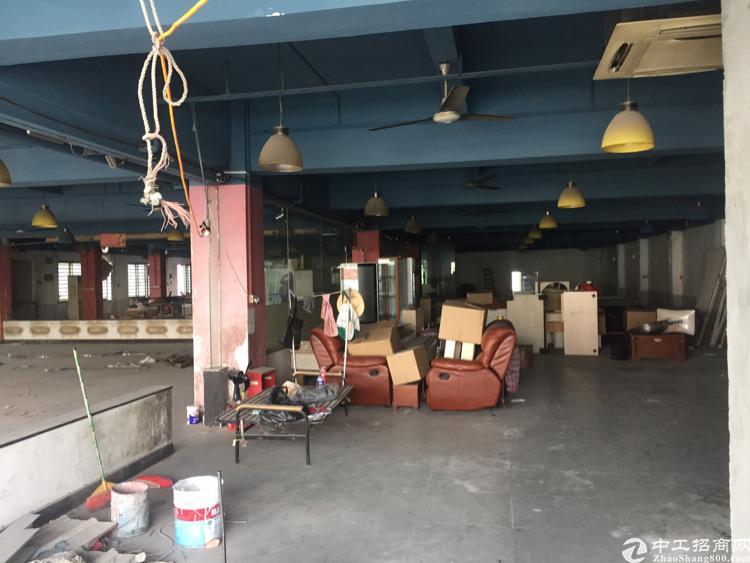 虎门省道旁边159号原房东实际面积带装修厂房800平方