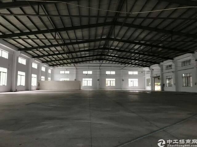 大朗钢构厂房出租,高12米,大小随意分