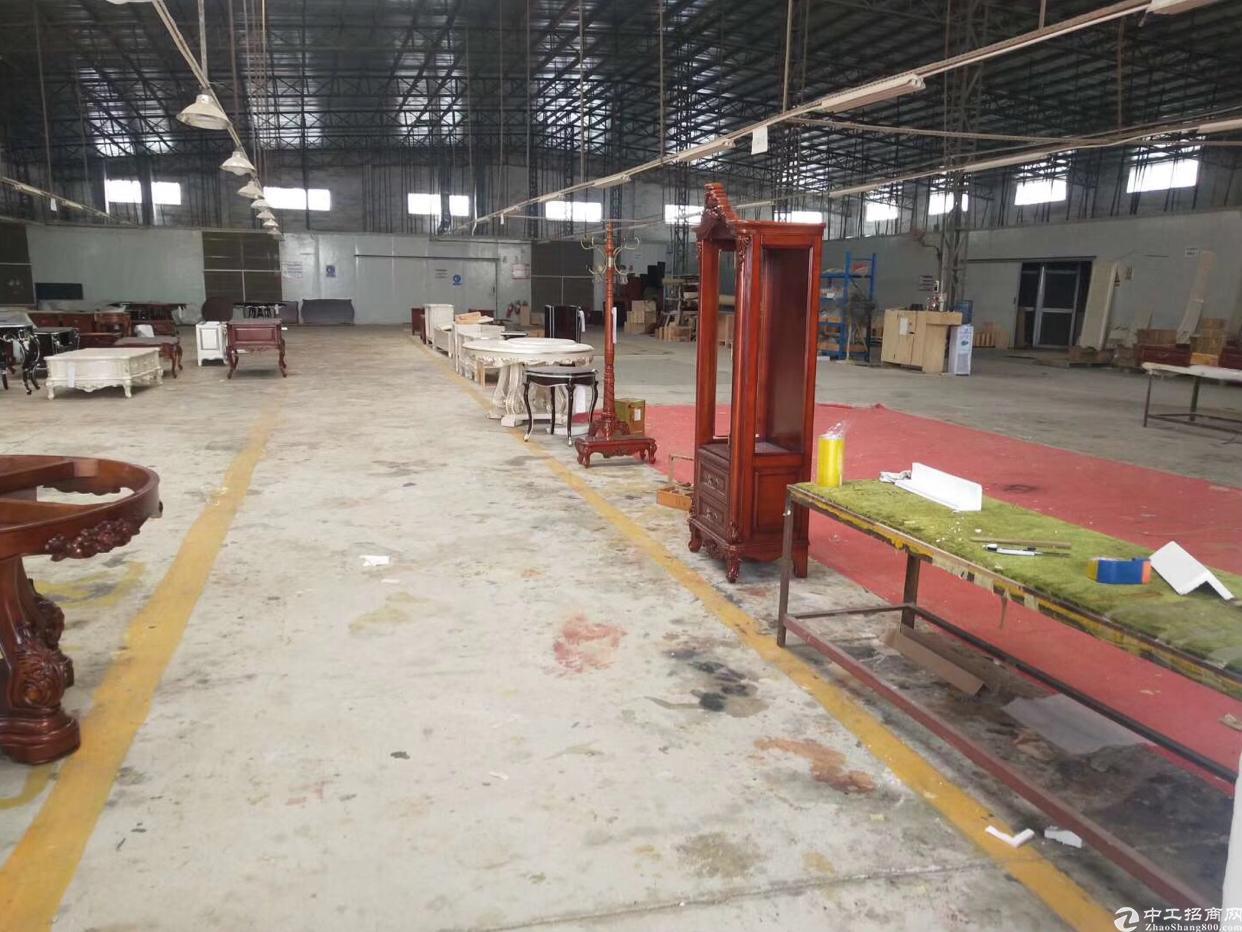 惠阳区沙田带行车红本钢构厂房出租5500平方家具环评-图2