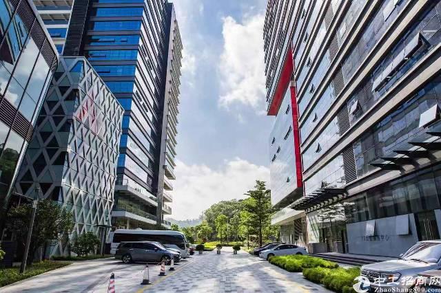 龙岗周边甲级写字楼3万平方35元每平红本使用率9层