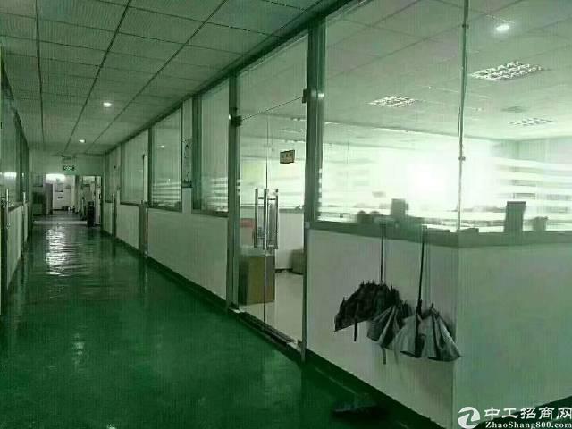 福永工业园1600平精装厂房出租
